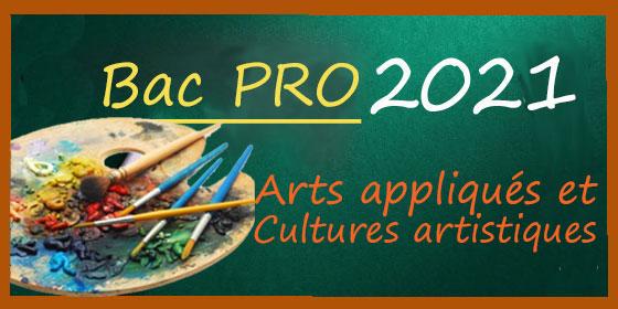 Bac Pro 2021 : les sujets et corrigés d'Arts appliqués et Culture artistique