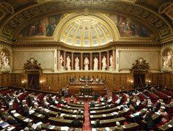 Hémicycle au Sénat