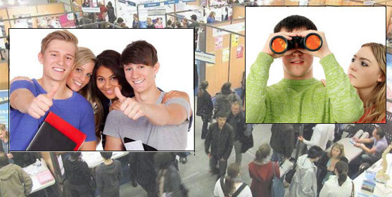 Salons étudiants : Réussissez votre visite