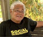 Le Philippin Tony Meloto