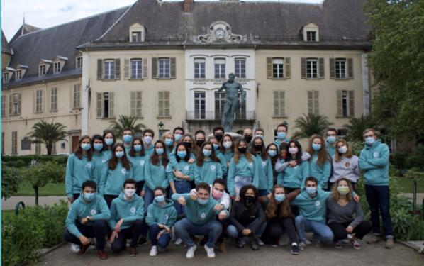 L'équipe de Impact GEM, association étudiante de Grenoble école de management.