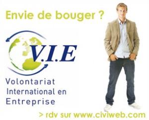 Le Volontariat international en entreprise (VIE) s'ouvre aux licences pro