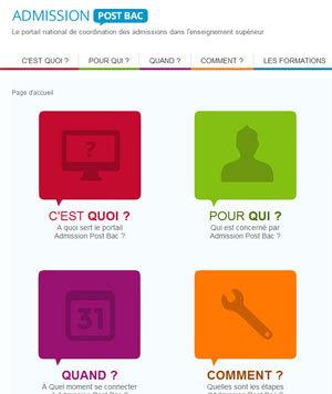 APB 2014 : le site admission-postbac est déjà en ligne