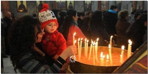 Des jeunes Français passent Noël en Syrie en signe de solidarité