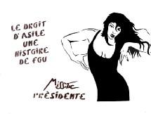 Dans les rues de Paris : Miss-Tic présidente !
