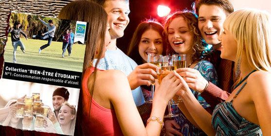 Alcool : étudiants, comment consommer responsable ?