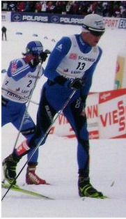 Maurice Manifica, ski de fond