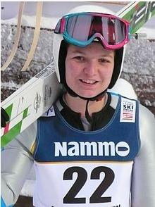 Julia Clair, saut à ski