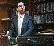 Benjamin Pitcho, président fondateur de la Clinique juridique de Paris 8.