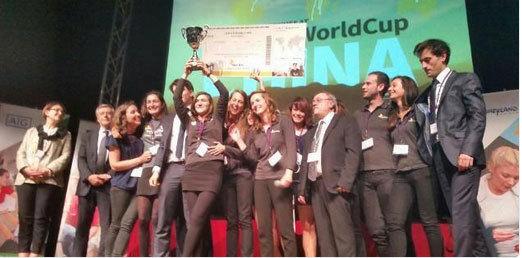 L'association Enactus IESEG remporte la compétition française.