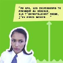Campagne du CFA des métiers de la communication visuelle.