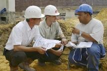 Les élèves de l'ESITC font de nombreux stages sur les chantiers.