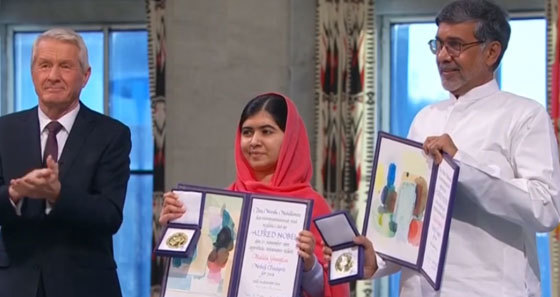 malala re oit le prix nobel de la paix oslo. Black Bedroom Furniture Sets. Home Design Ideas