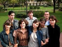 Les premiers étudiants accueillis en 2003, à la cité universitaire.