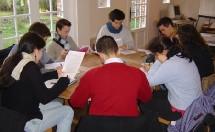 Atelier lors d'une journée organisée par Action Jeunes.