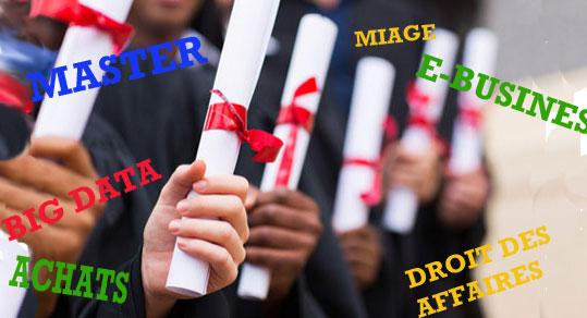Dix masters universitaires à forts débouchés
