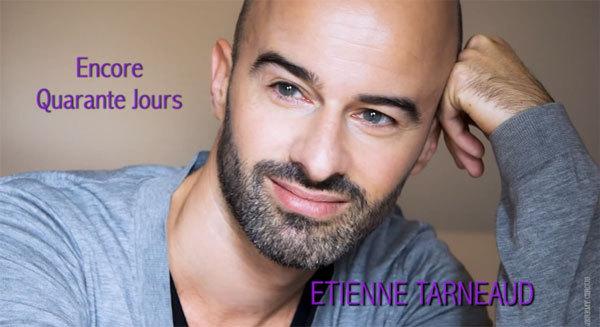 """Etienne Tarneaud sur la couverture du single de carême. """"Photo : Jeremy Circus)"""