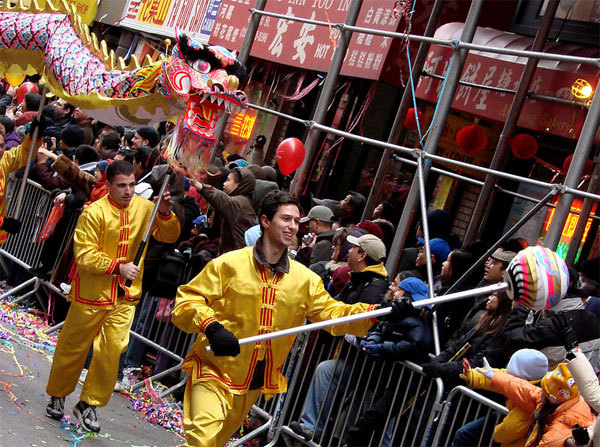 Célébration du Nouvel An à Hong Kong. Photo : istolethetv / wikipedia)