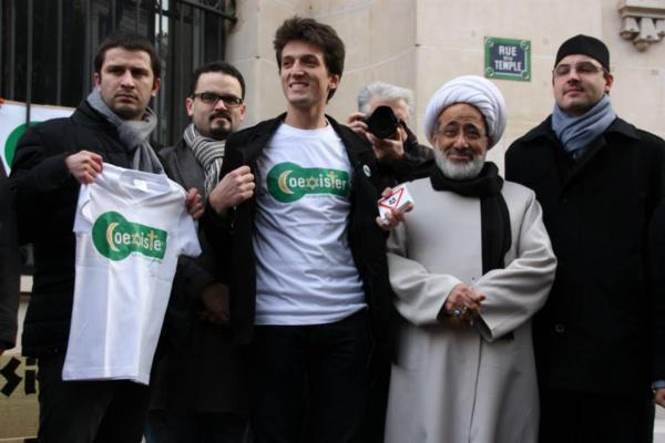 Le 11 janvier 2015, Coexister est avec des millions de Français dans la rue. Crédit photo : Coexister