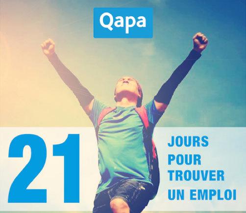 Le site Qapa lance un programme de coaching : 21 jours pour trouver un emploi