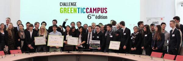 Finale du Challenge Green TIC Campus : 4 projets étudiants lauréats