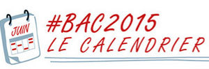 Bac 2015 : le calendrier des épreuves légèrement modifié