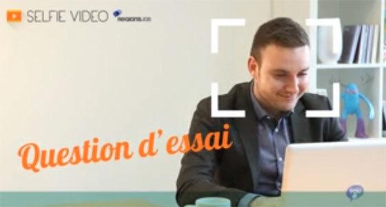 """Recrutement : RegionsJob offre un """"Selfie Vidéo"""" aux commerciaux"""