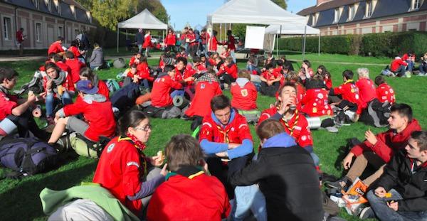 You're up : 15 000 jeunes scouts européens rassemblés à Strasbourg