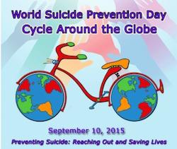 Un challenge vélo autour de la terre pour la prévention du suicide