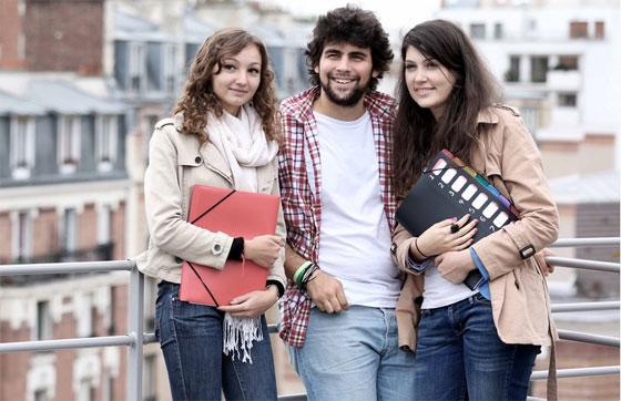 Etudiants de l'ECE Paris, l'une des six écoles des concours Avenir et Avenir+. Copyright : ECE Paris