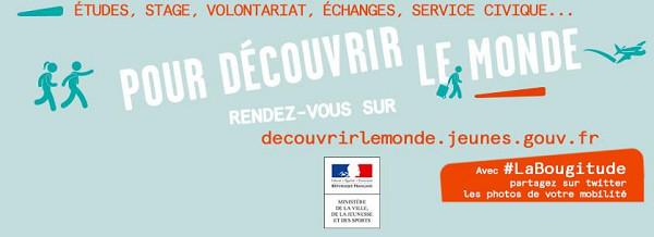 Découvrir le monde : un nouveau site pour tous les jeunes qui ont #laBougitude