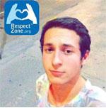 """Nathan Coen : une photo de profil FB """"respectzonifiée""""."""
