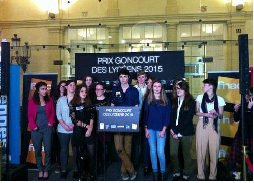 Le Prix Goncourt des lycéens 2015 décerné à Delphine de Vigan