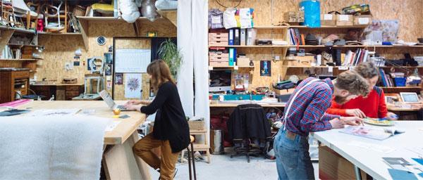 Atelier textile. Crédit : Julien Dominguez