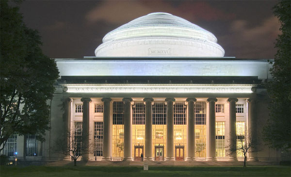 Le dôme du Massachusetts Institute of Technology (MIT). Crédit : Wikimédia
