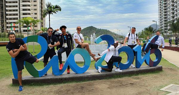Des athlètes français paralympiques à Rio. Crédits photos : CPSF 2016