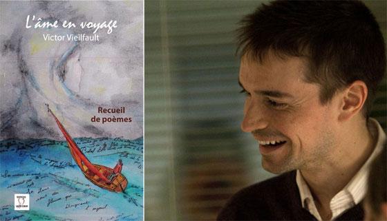 """Victor Vieilfault, auteur du recueil de poèmes """"L'âme en voyage""""."""
