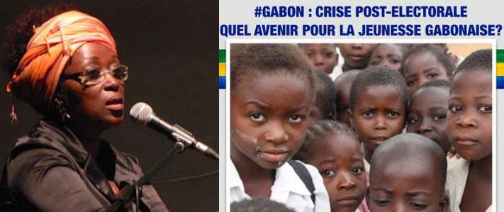 Hortense Nmame veut être la voix des enfants gabonais maltraités et des jeunes privés de démocratie.