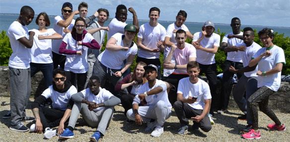 Les participants du camp Yes Oui Can de l'été 2016.