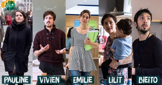 """Le webdoc """"Bac plus dalle"""" (www.bacplusquedalle.com)"""