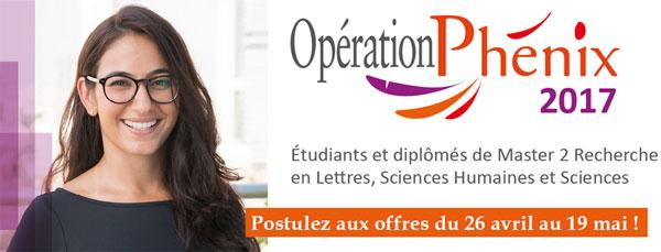 Opération Phénix 2017 : le recrutement de diplômés de l'université se déploie sur Nantes
