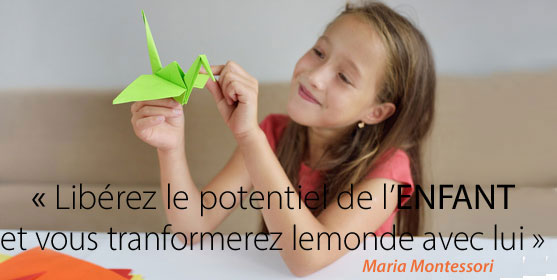 Maria montessori c est l enfant qui peut sauver le monde
