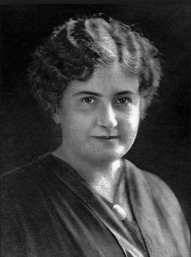 Maria Montessori. Photo : wikimédia