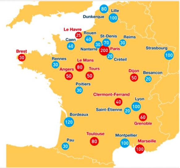Etudiants réfugiés : 35 universités lancent une formation en français