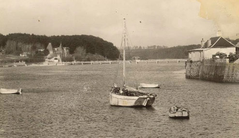 Le port du Conquet où le jeune Jacques Baranger embarqua pour l'Angleterre. © http://recherches.historiques-leconquet.over-blog.com