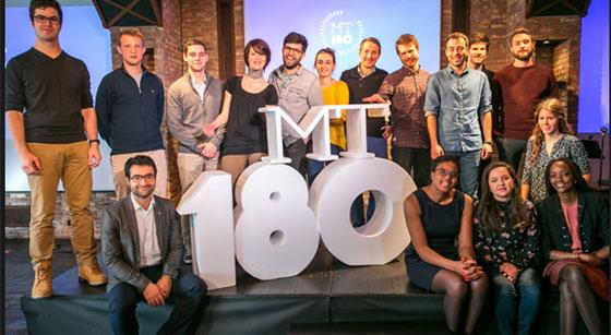 Les 16 finalistes français du concours MT180 © 101prod