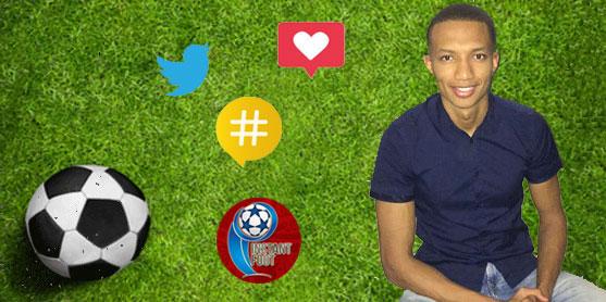 Mehdi Hormat, cofondateur d'Instant foot, plateforme d'actu footballistique sur les réseaux sociaux. © DR