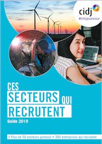 Les secteurs qui recrutent des jeunes en 2019 : le CIDJ publie son top 5