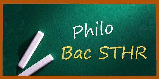 Les sujets et les corrigés de philo du bac Hôtellerie (STHR)