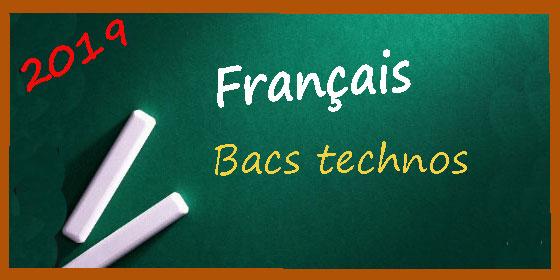 Bac français : les corrigés des épreuves anticipées pour les bacs technos